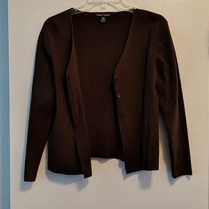 Brown women's sweater